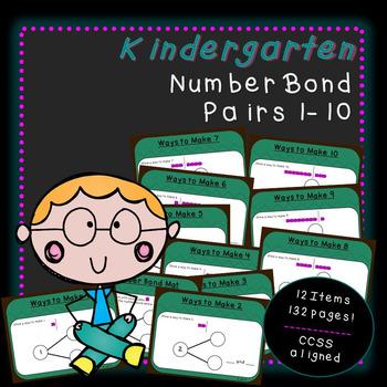 Drawing Pairs with Number Bonds (Kindergarten-K.OA.3)