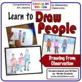 Art Lesson Learn to Draw People Drawing From Observation