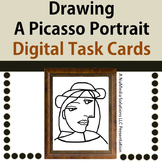 Drawing Picasso Portraits - Digital Task Cards