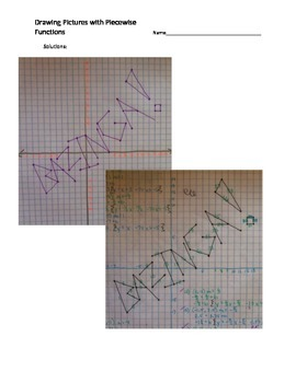 Drawing Pictures with Piecewise Functions - Bazinga!