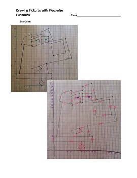Drawing Pictures with Piecewise Functions - Brian Griffin