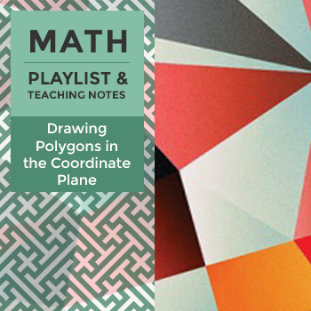 Drawing Polygons in the Coordinate Plane - Playlist and Teaching Notes