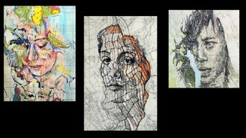 Drawing Portraits on Maps
