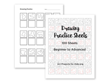 Drawing Practice Sheets K-2
