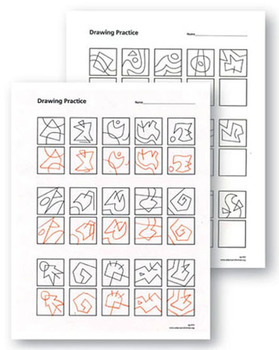 Drawing Practice Sheets 3-5