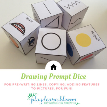 Drawing Prompt Dice