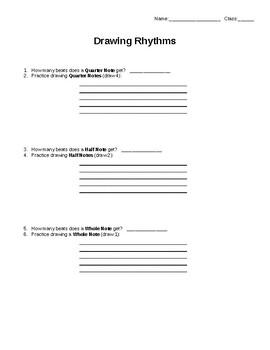 Drawing Rhythms Practice