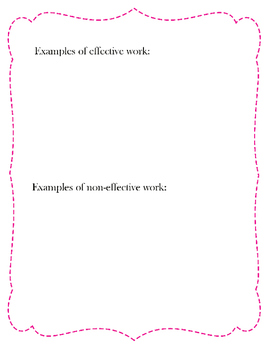 Drawing Rubric and Critique (PDF) for Visual Arts