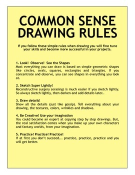Drawing Rules