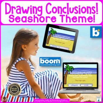 Drawing Seashore Conclusions   BOOM Cards