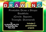 Fine Motor: Drawing Shapes Booklets and FUN Projects!