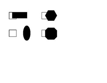 Drawing Shapes, Shapes Display and Shape Hunt Bundle