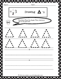 Drawing Shapes: Triangles Worksheet
