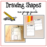 Drawing Shapes Worksheets