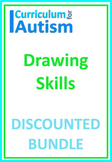Drawing Skills Bundle Autism Distance Learning