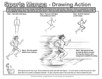 Drawing Sports Manga- Bundle