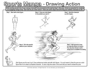 Drawing Sports Manga- Single