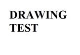 Drawing Test Fine Arts