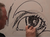Drawing The Eye 3 Quarter Step By Step