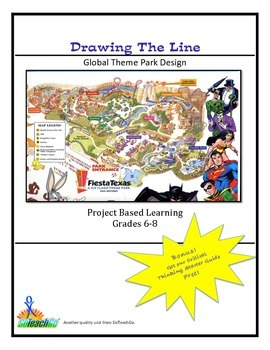Drawing The Line - Global Theme Park Design  Grades 6-8