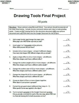 Drawing Tools Final Project
