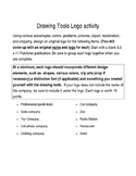 Drawing Tools Logo activity; Microsoft Publisher; Desktop