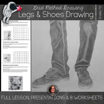 Drawing Unit - Legs and Shoes Drawing - Value, Line