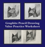 Art Distance Learning Beginner Drawing and Shading Exercise