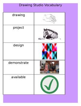 Drawing Vocabulary