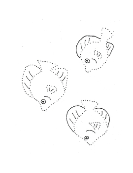 Drawing With Dots - Sea Life