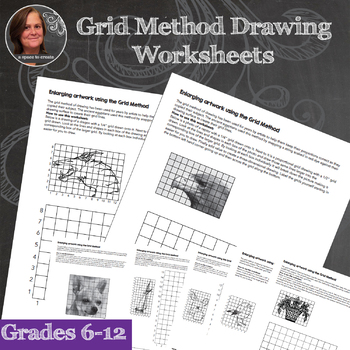 *Drawing Worksheets Bundle for the Middle School or High School Art