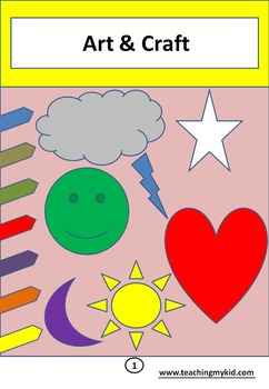 Fill the colors in coloringbook - 20 worksheets