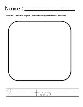 Drawing & Writing 1-10