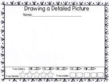 Drawing a Detailed Picture