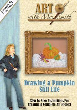 Drawing a Pumpkin Still Life - DVD