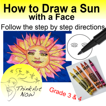 Drawing a Sun with a Face