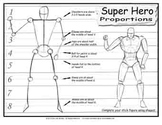 Drawing a Superhero