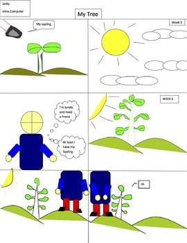 Drawing a comic strip in Word