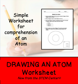Drawing an Atom Worksheet
