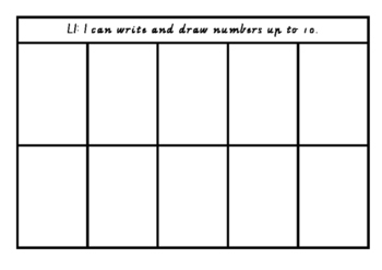 Drawing and Writing Numbers up to 10 and 20