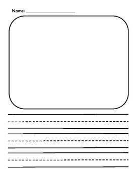 Draw Write Paper Worksheets & Teaching Resources | TpT