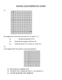 Drawing and interpreting graphs
