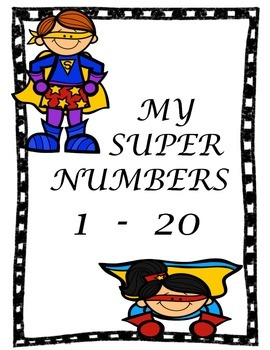 Drawing and writing numbers 1 - 20