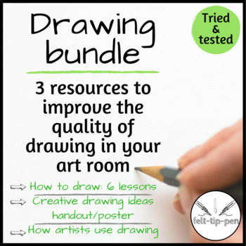 Drawing bundle: improve students' enjoyment, understanding and skill