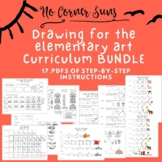 Drawing for the Elementary Art Curriculum/ How to Draw -Bundle
