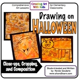 Art Lesson Halloween Drawing