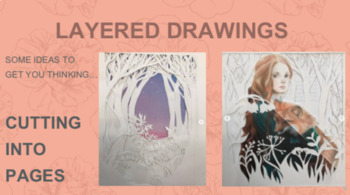 Drawing project for seniors - LAYERS drawing