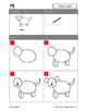 Drawing step by step - domestic animals