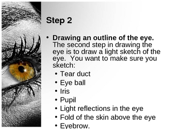 Drawing the Eye PowerPoint and Videos