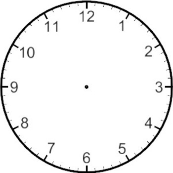 Drawing the Time on a Clock